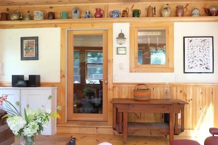 Rustic Cabin: 4 Quiet Acres near Berkshire Skiing - 查塔姆