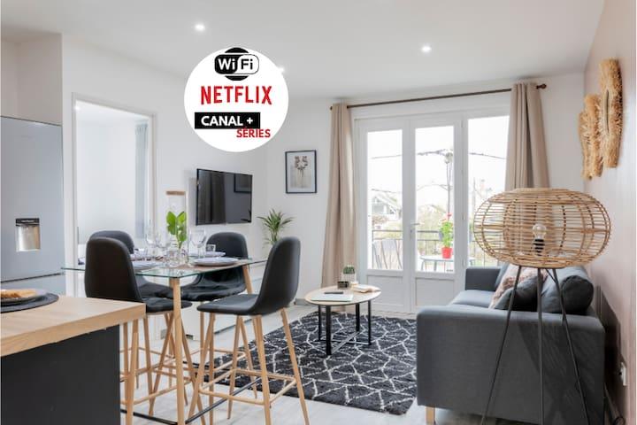 GRAND APPART TOUT CONFORT (Netflix/Canalséries)