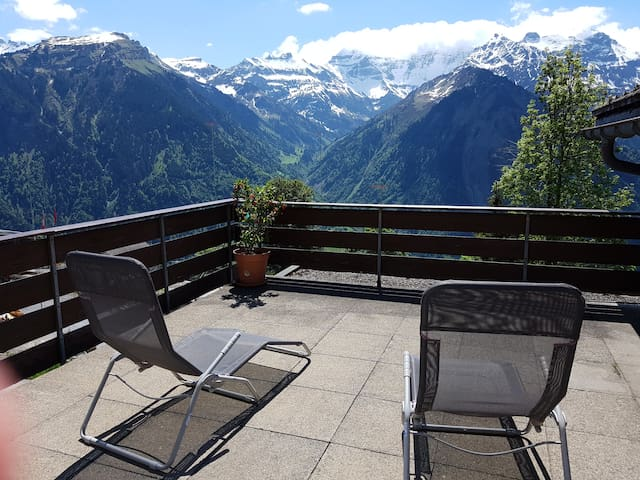 Ferien im autofreien Braunwald, Schweiz