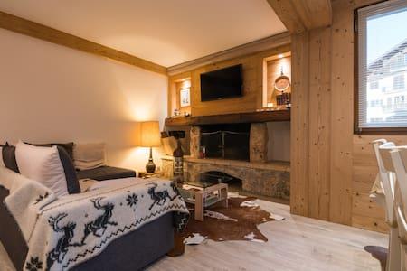 Très bel appartement 3 pièces, Rochebrune - เมอเชฟ - อพาร์ทเมนท์