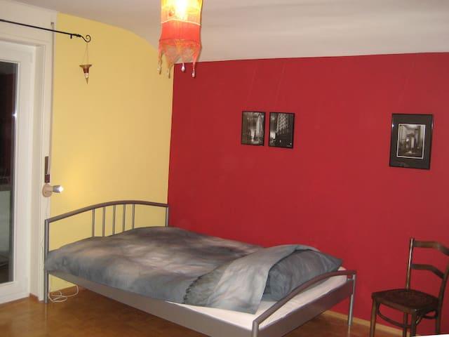 Chambre grenat