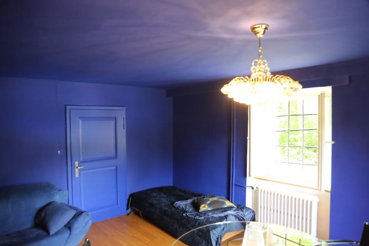 Blue Room with Piano - Gänsbrunnen - Hus