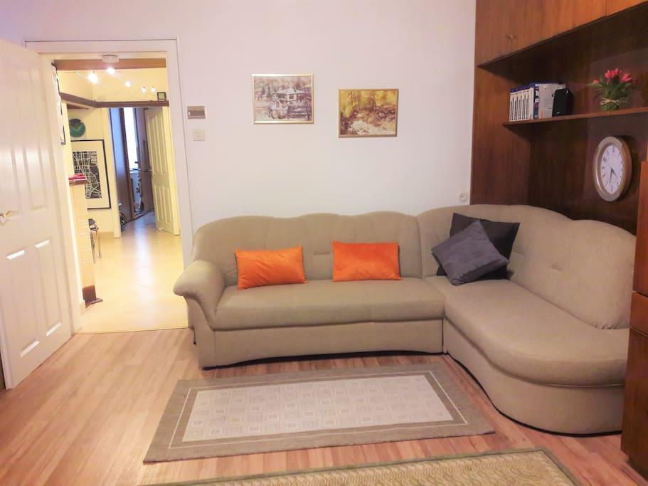 Leaving room, sofa
