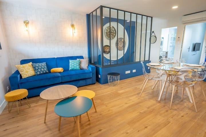 Appart neuf, cozy, calme 5mn du centre La Rochelle