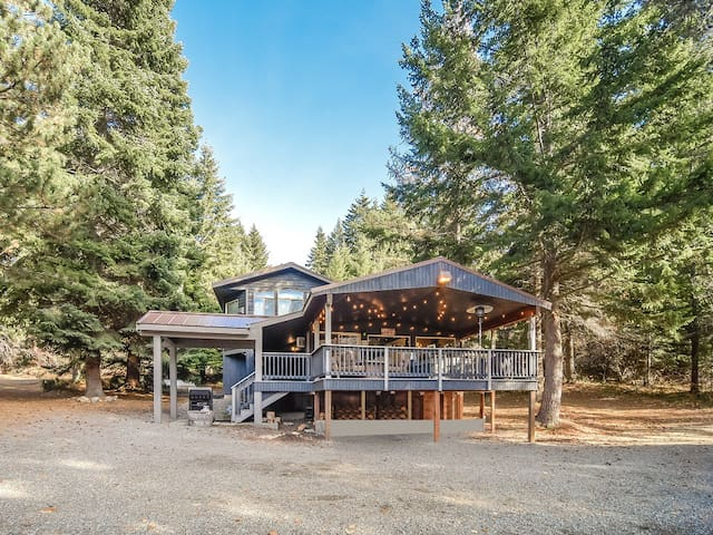 Lakehouse w/ Private Lake Access_3rd Nt FREE_Hot Tub_Htd Cvd Deck_Pet-Friendy
