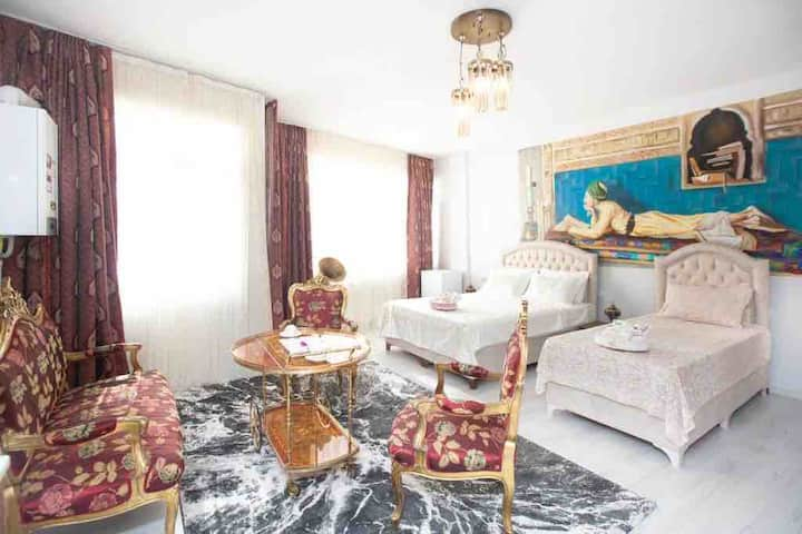 Taksim Ottoman Style 4-1 - La Casa Home Concept