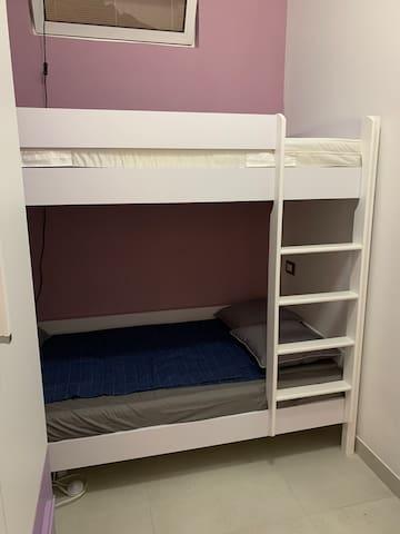 camera  2 Esclusivo  per bambini  e ragazzi fino a 17 anni ( peso max sopportato 90 kg)