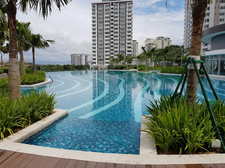 3-Bedroom Modern Apartment in PUTRAJAYA