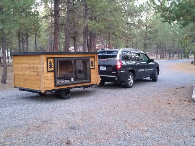 Rustic Tiny Camper