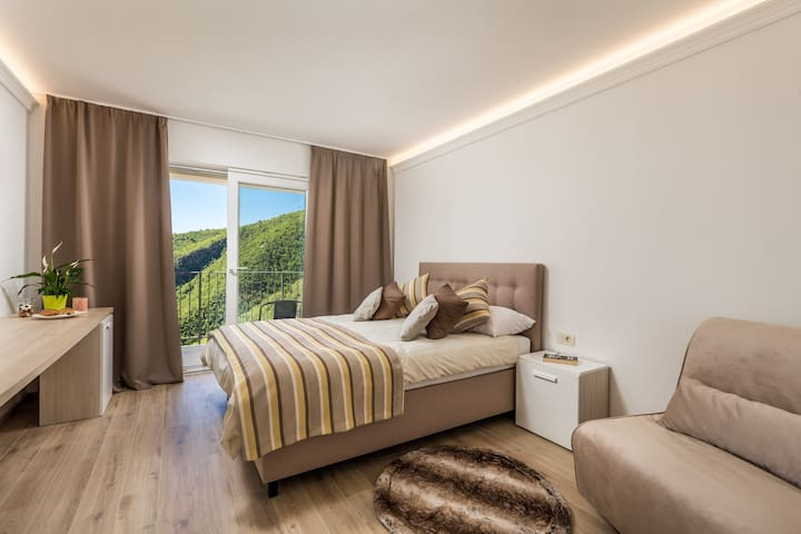 Pansion Villa Betina-Double room-Balcony, Sea View