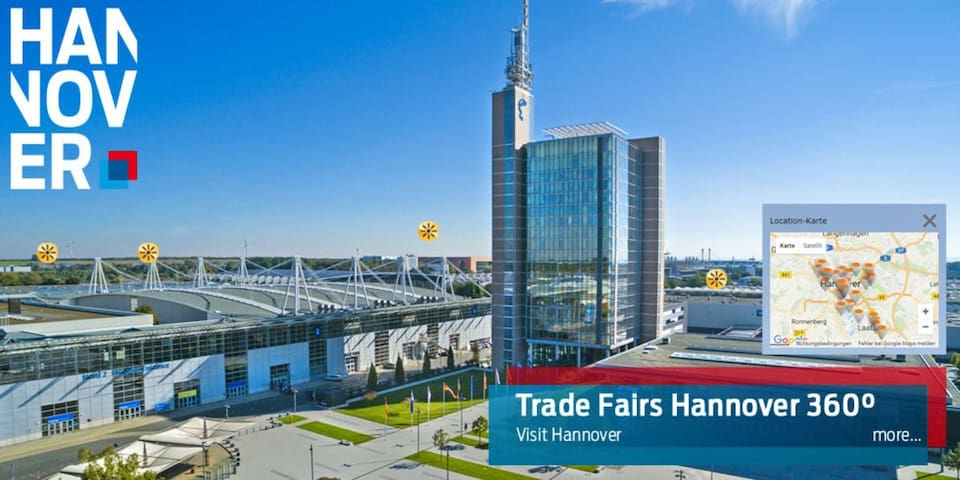 9站直达展会,高速WIFI,Hannover Messe/Airport