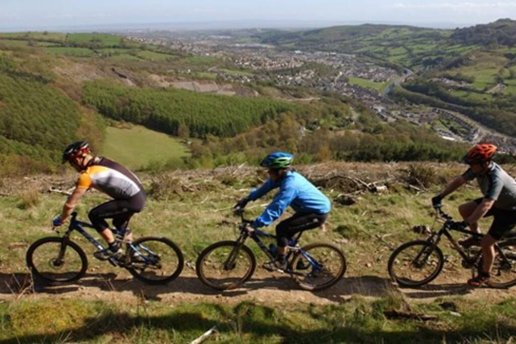 Cwmcarn biking
