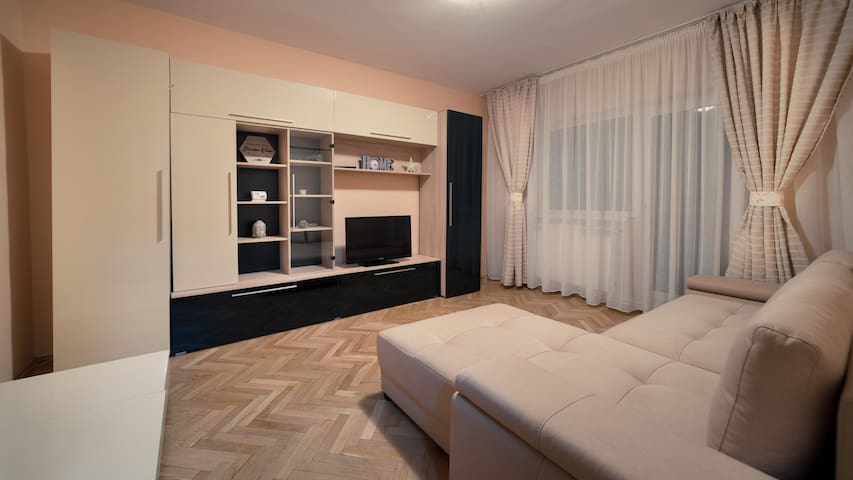 Whole apartment, 1 Bed, 1 Living area, City Center