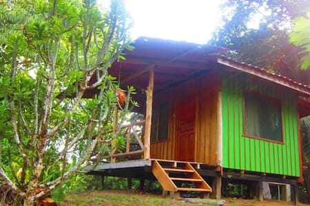 Private Rainforest Cabana (Sleeps 2 w meals incl) - Hytte