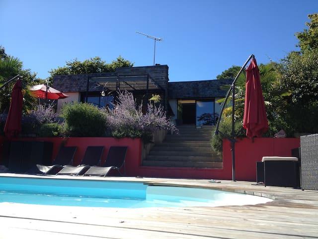 Maison avec piscine chauffée - La Gacilly - Ev