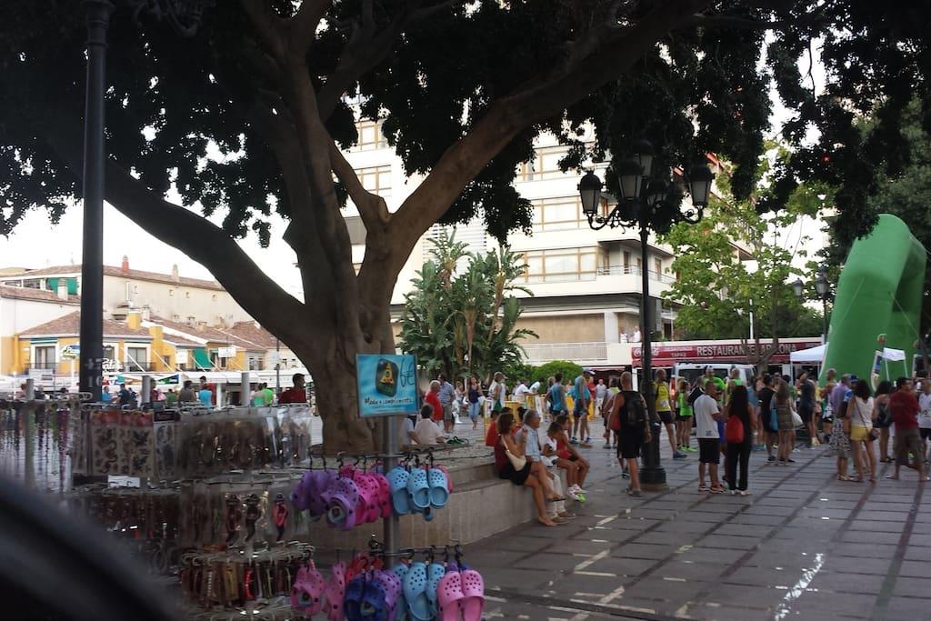 Plaza de La Nogalera de Torremolinos