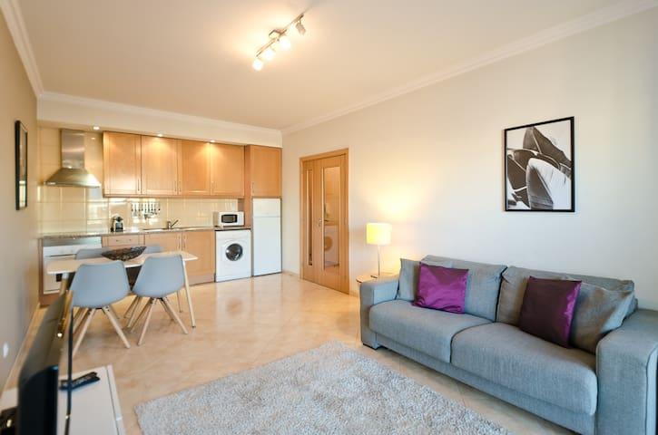 Modern open plan living room