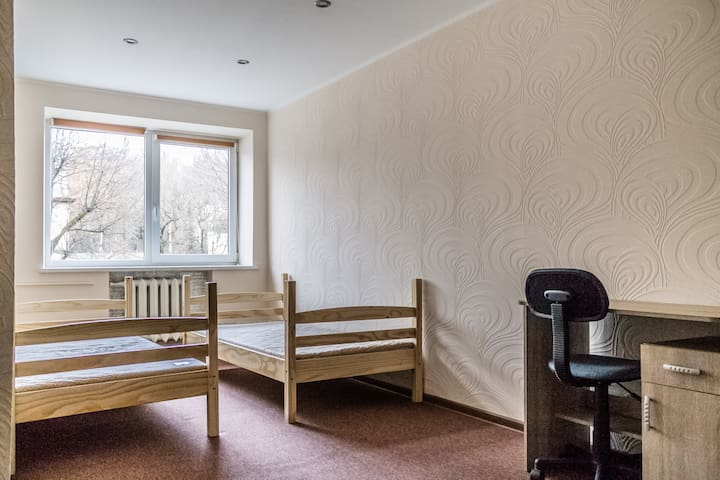 Private double or twin room in Kaunas center - Kaunas - Wohnung