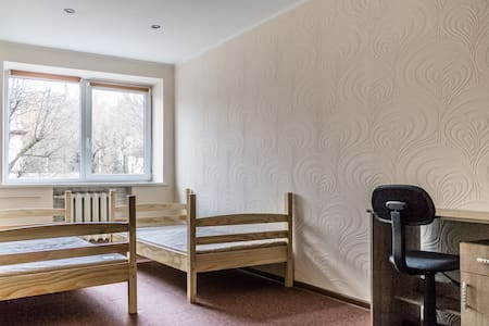 Private double or twin room in Kaunas center - カウナス - アパート