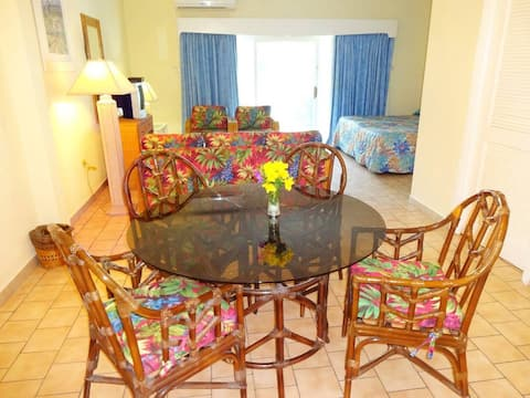 Caribbean Beachside Apt. with New Kitchen & Bath