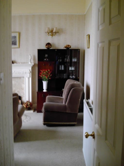 Entrance to Wordsworth living room