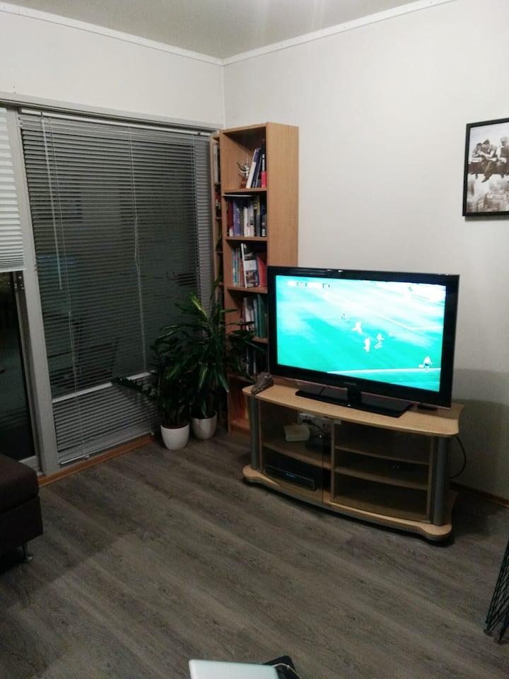1 bedroom apartment, central location Tromsø.