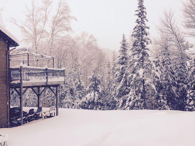 ★ The Perfect Winter Wonderland ★ - Saint-Sauveur - Casa