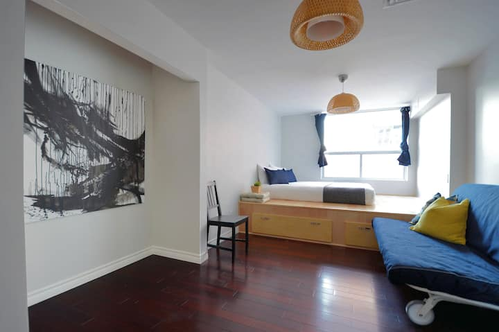 Japan Inspired Studio Apartment at Downtown Core