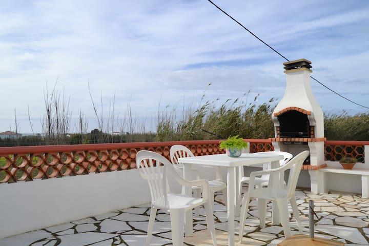 Casa S.José vista Mar com terraço - Vila Nova de Milfontes - Ev