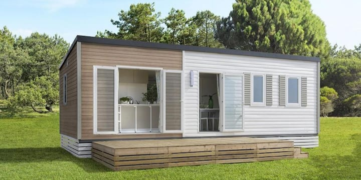 Comfort mobile home Q with 3 sleeping rooms