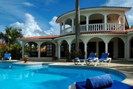 6 BR Villa- Access to All VIP Areas - Cofresi - 별장/타운하우스