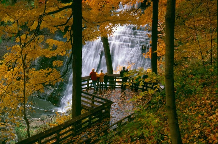 Brandywine Falls Hike, Bike & Relaxation Suite - Northfield - Apartment