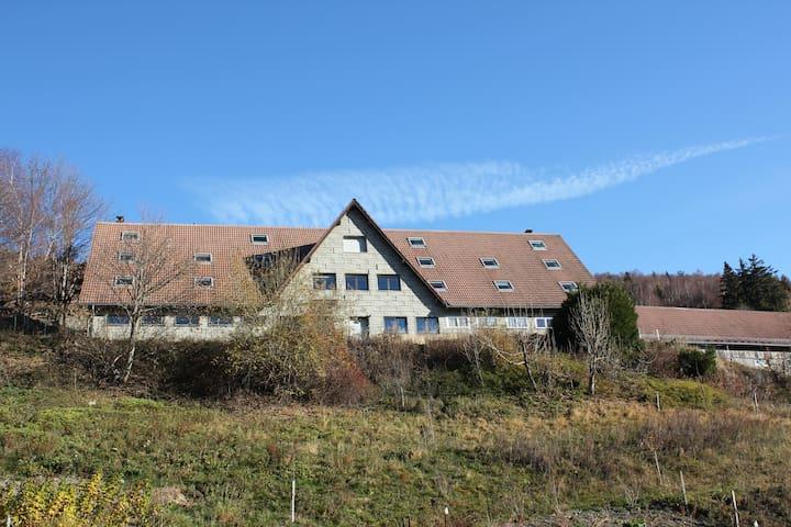 Gîte de groupe + Salle belle Vue - Linthal - Apartament