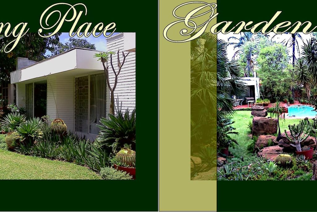 Pristine Gardens with safety and privacy, fantastic outdoor area for entertaining.