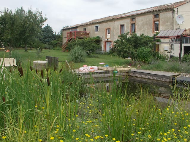 Les loriots gite rural in Aude - Issel - Apartment