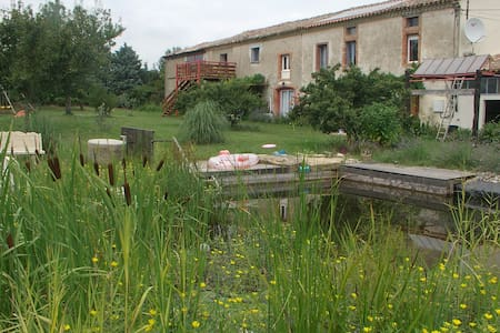 Les loriots gite rural in Aude - Issel