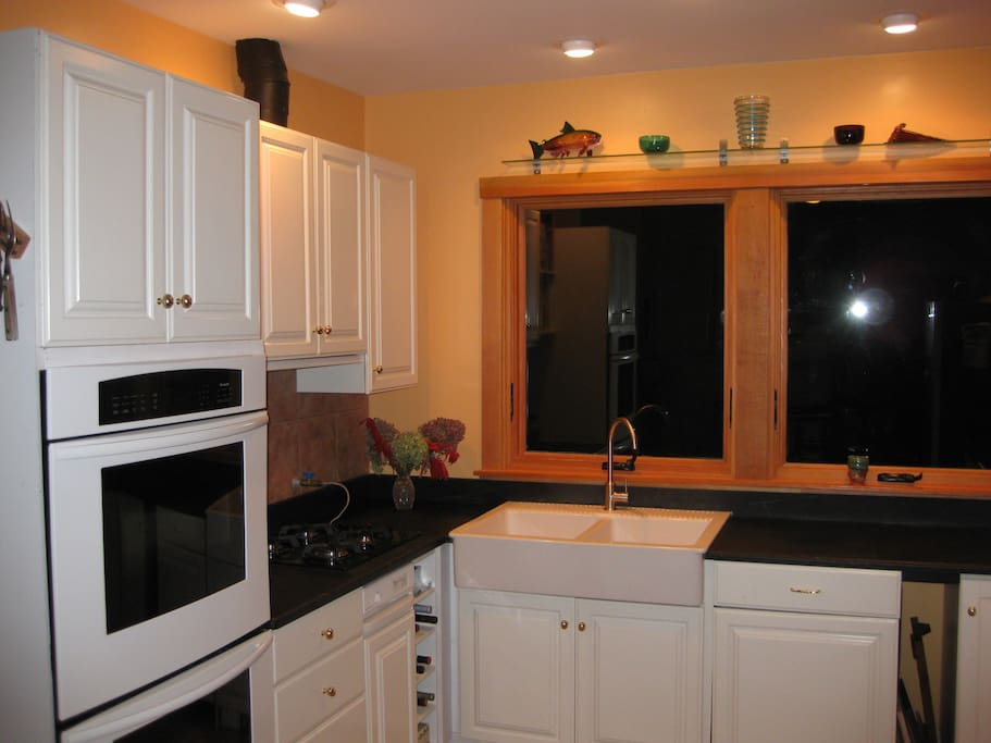 Share a newly remodeled kitchen