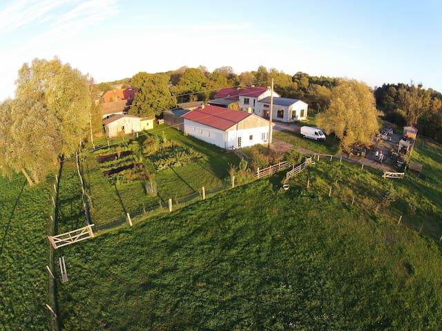 Buchbinderhof in der Uckermark - Gerswalde - Rumah
