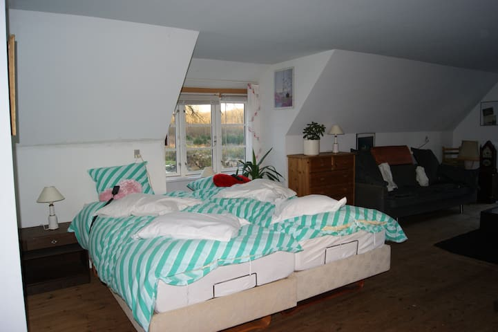 Fyn, double room No5, Gislev, Funen - Gislev - Appartement