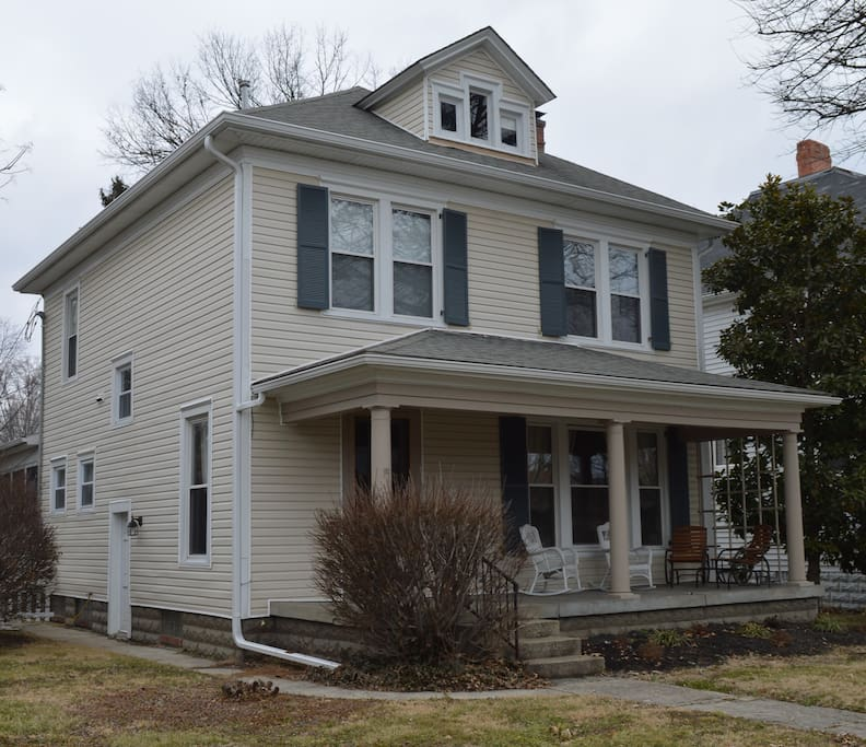 New Home For Rent: Historic Home Minutes From Derby