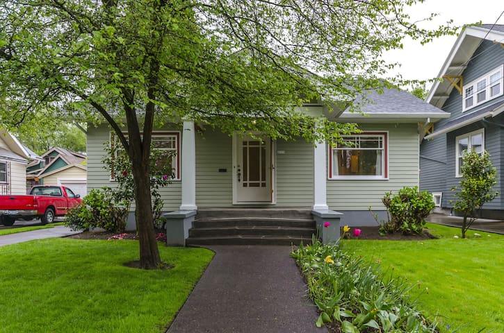 Classic Portland Bungalow Basement Apartment