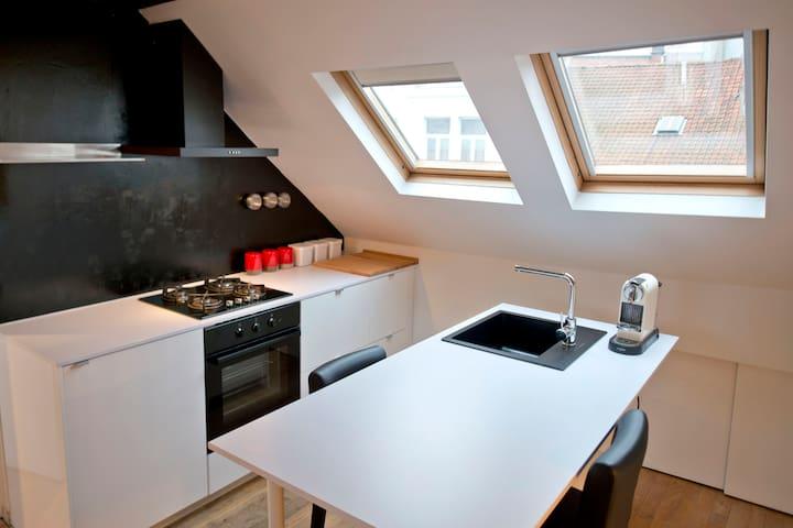 Saint Boniface Rooftop - Ixelles - Apartament