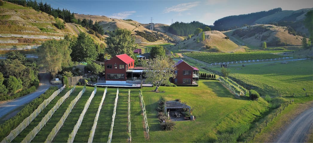 Luxury Lodge at Kiwiesque, Hawkes Bay