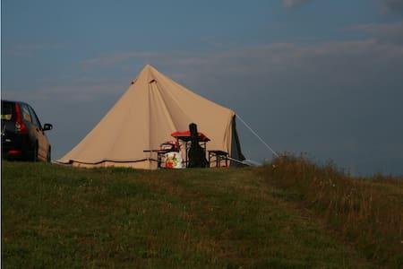 Romantic coton tent in the Morvan - Brassy
