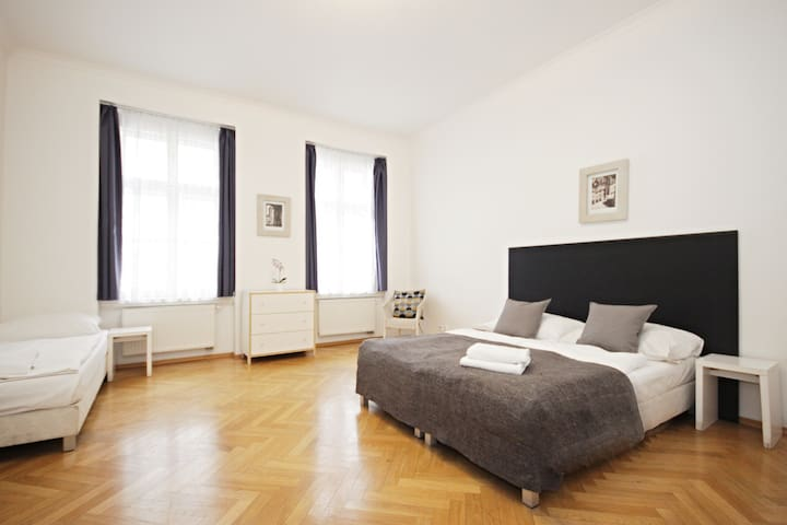 Attractive central Prague 1B for 6 people - PC A42