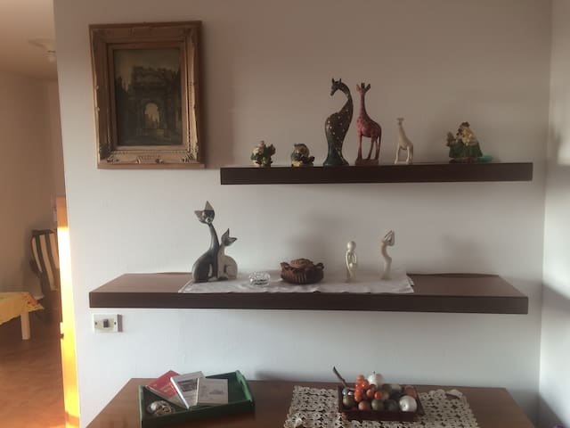 Quiet and spacious apartment minutes frm Milan - Binasco - Pis