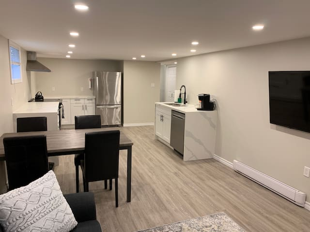 Newly Renovated Luxury Lower Level 2 Bedroom Unit