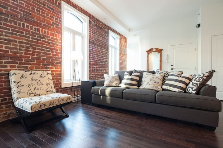Luxury renovated historical condo  - Quebec City - Lakás
