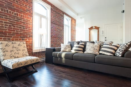 Luxury renovated historical condo  - Quebec City