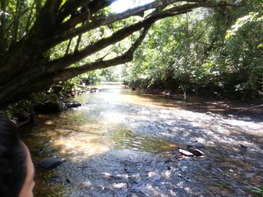 Rio das Almas a +/- 100m